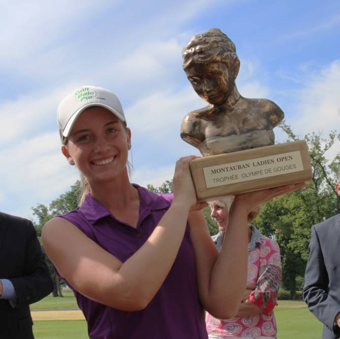 Gomez Ruiz Takes Montauban Ladies Open Title