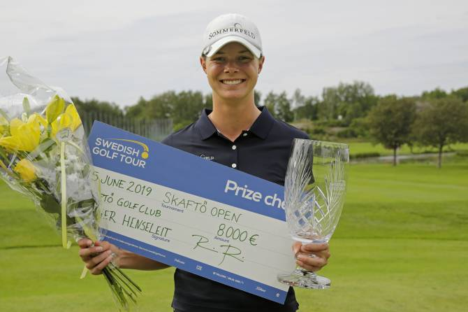 Women sport news - HENSELEIT STORMS TO TITLE AT SKAFTO OPEN