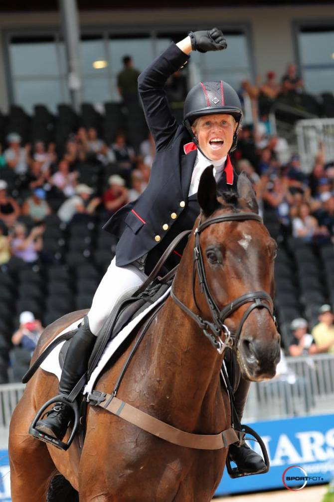 Women sport news - It's A Golden Glow For British Eventers As They Win Team Title In Tryon