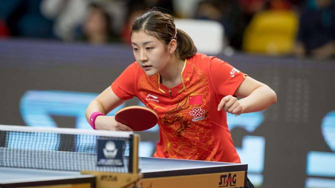 Women sport news - ITTF-New Month... New World Number One!