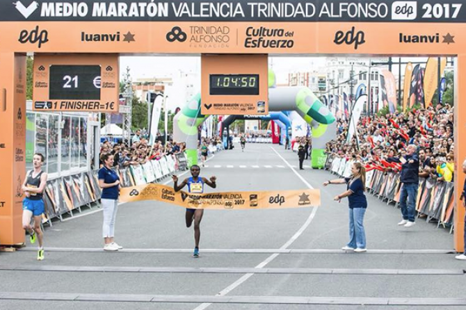 Women sport news - Jepkosgei breaks world half marathon record in Valencia