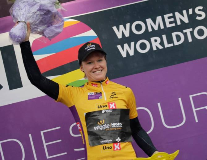 Women sport news - Jolien D'hoore Leads Tour Of Norway After Stage One Sprint Victory