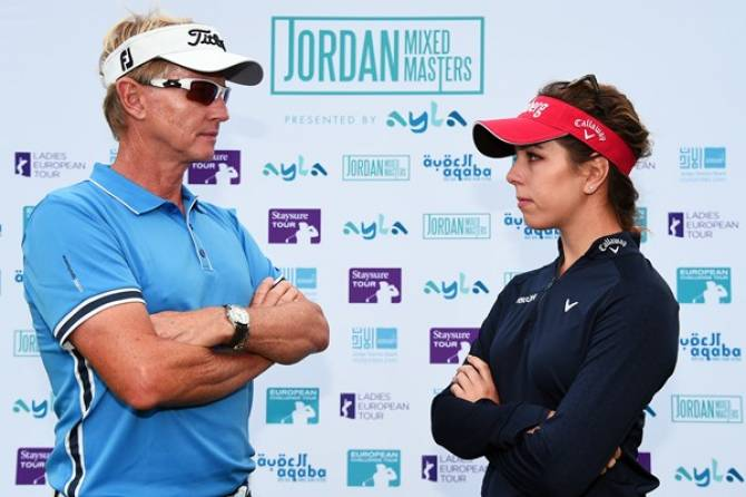 Women sport news - Jordan Mixed Open- World's First Mixed Golf Tournament