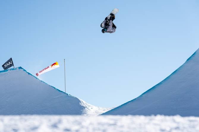 Women sport news - Julia Marino wins LAAX OPEN 2020 Slopestyle title