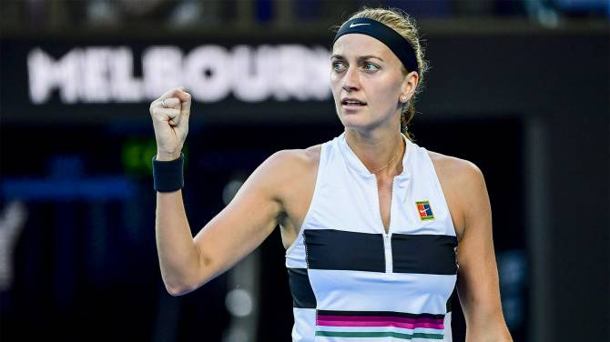 Women sport news - Kvitova through to Australian open Semi Finals