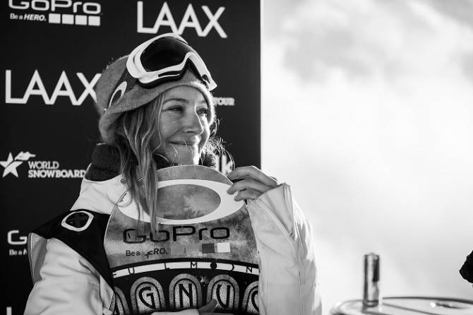 Women sport news - LAAX is prepared for the most important European snowboard event: LAAX OPEN