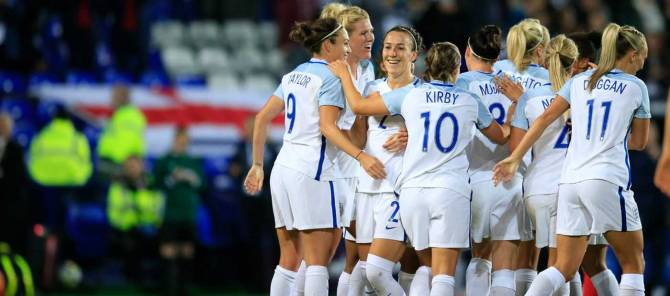 Women sport news - Local trio score in World Cup win over Russia at Tranmere