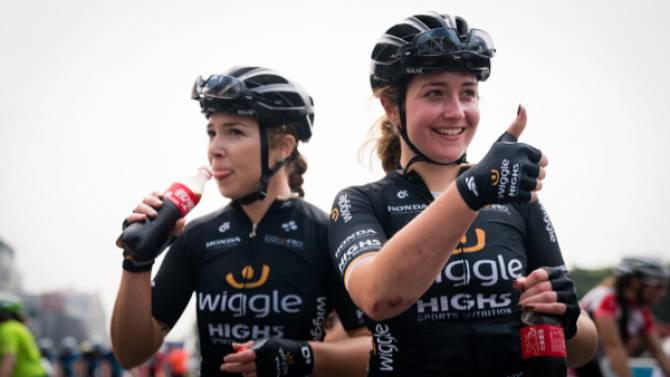 Women sport news - Lucy And Grace Garner Renew With Wiggle High5 Pro Cycling In 2018