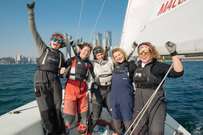 Women sport news - Lucy Macgregor Wins in Busan