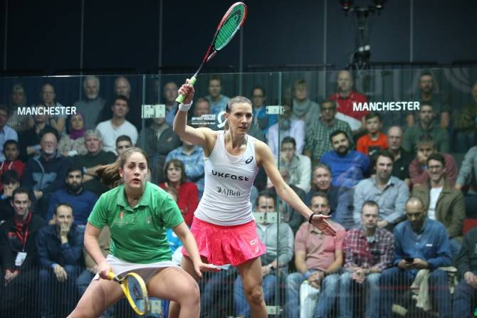 Women sport news - Manchester to Host Female Squash Stars in 2019
