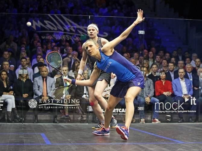 Women sport news - Massaro Relishing PSA Dubai World Series Finals Defence
