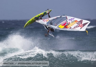 Women sport news -  An epic day as howling winds and big waves bombard the shores of El Medano