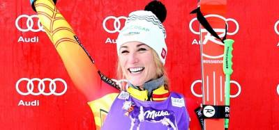 Women sport news - Canadian Larisa Yurkiw is quietly putting together a solid World Cup ski season.