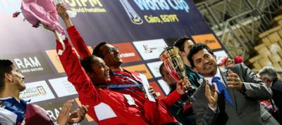 Women sport news - Egypt win the mixed relay at the  UIPM 2019 Pentathlon World Cup Cairo.