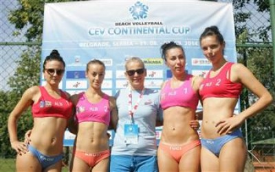 Women sport news -  Plenty of positives for Albania after Continental Cup debut