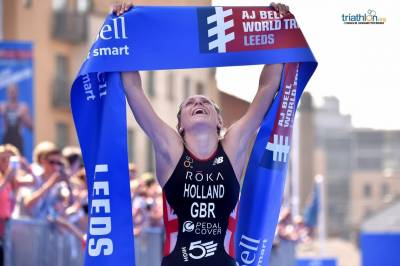 Women sport news - Vicky Holland brings home the gold after thrilling Leeds display