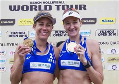 Women sport news - Walsh/Ross on top sweeping Fuzhou Open gold