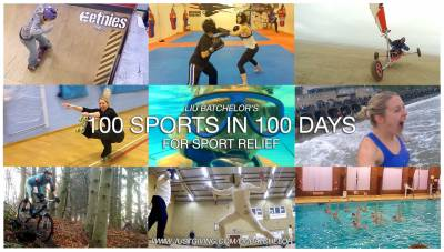 Women sport news - 100 Sports in 100 Days challenge for Sport Relief