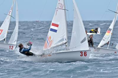 Women sport news - 470 EUROPEANS, TESTING CONDITIONS ON DAY 4