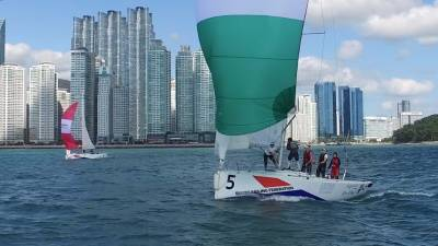 Women sport news - 61 sailors in 12 crews from 9 countries to race – Busan welcomes all to the 4th 2016 WIM Series event in Korea