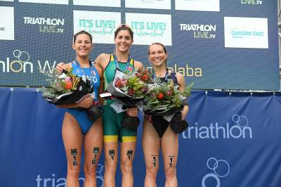 Women sport news - A maiden win in Mooloolaba for Australia's Ashleigh Gentle
