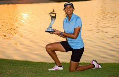 Women sport news - Aditi Ashok wins Fatima Bint Mubarak Ladies Open