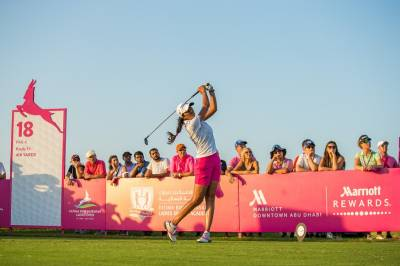 Women sport news - Aditi Makes Her Move at the Fatima Bint Mubarak Ladies Open