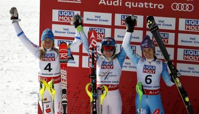 Women sport news - American Mikaela Shiffrin Defends Slalom Title At Worlds