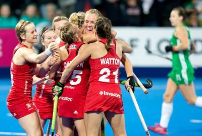 Women sport news - ANSLEY GOAL FIRES ENGLAND TO VICTORY OVER IRELAND