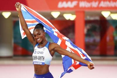 Women sport news - ASHER-SMITH REVISES BRITISH 200M RECORD TO CLAIM HISTORIC WORLD TITLE
