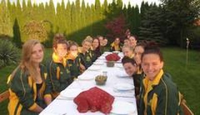 Women sport news - Australian Waterpolo B94 girl's end tour on a high