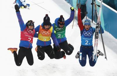Women sport news - Belarus take women's Biathlon 4x6km Relay Gold