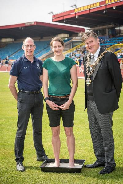 Women sport news - BIRMINGHAM OLYMPIC LEGEND KELLY SOTHERTON HELPS LAUNCH CELEBRATION OF BIRMINGHAM'S GLOBAL ATHLETICS HISTORY