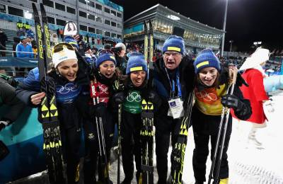 Women sport news - Bjoergen wins historic 13th medal as Norway win women's 4x 5km Relay Gold