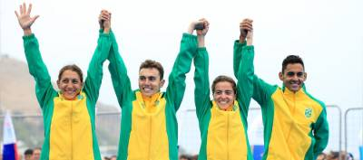 Women sport news - Brazil delivers mixed relay gold in the Pan American Games