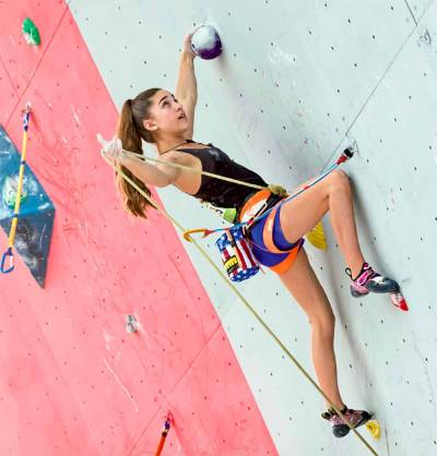 Women sport news - Brooke Raboutou finds other ways to climb