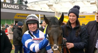 Women sport news - Bryony and Frodon bring it home at Cheltenham