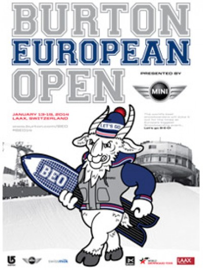 Women sport news - Burton European Open 2014 Presented By MINI Announces New Slopestyle Course