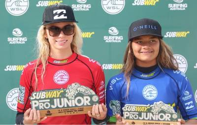 Women sport news - Callaghan Victorious at Subway Surf Series Wollongong
