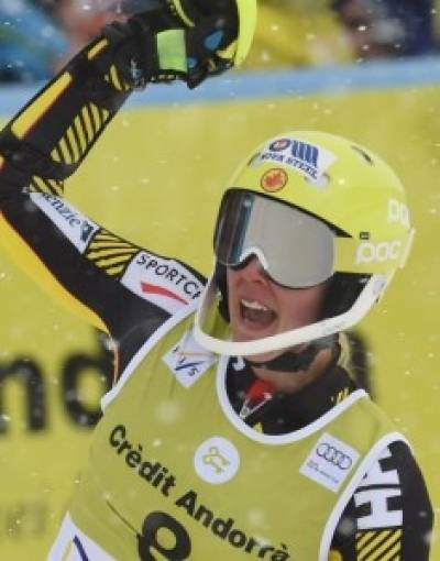 Women sport news - Canada's Marie-Michele Gagnon Wins Combined Event, Injured Vonn Takes 13th