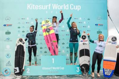 Women sport news - Carla wins Single Elimination at GKA Kite-Surf World Cup Sylt