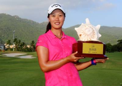 Women sport news - China's Xi Yu Lin Races to Five Stroke Victory in Sanya