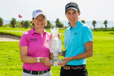 Women sport news - Ciganda Targeting Trophy at Terramar