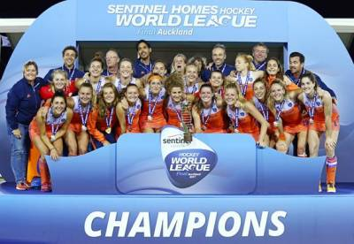 Women sport news - Classy Netherlands beat Brave Black Sticks in Sentinel Homes Hockey World League Final