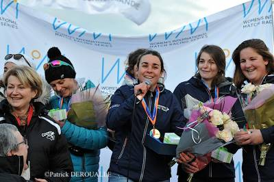 Women sport news - Courtois Wins the WIM Series and the Bédanne Cup