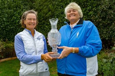 Women sport news - DAME LAURA DAVIES NAMED SOLHEIM CUP VICE CAPTAIN