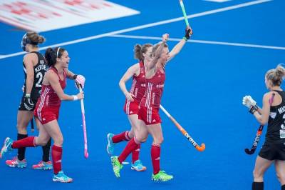Women sport news - Danson hat-trick fires Great Britain to New Zealand win
