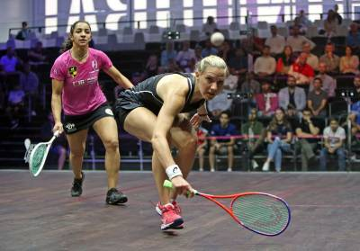 Women sport news - Defending Champions Massaro and ElShorbagy Off to Winning Starts at World Series Final