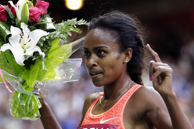 Women sport news - Dibaba breaks world 2000m record in Sabadell