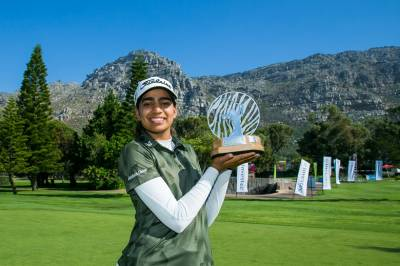 Women sport news - Diksha drives to victory in Investec SA Women's Open